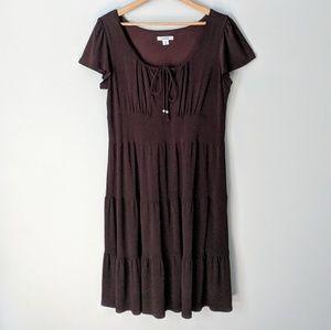 Brown Swing Dress